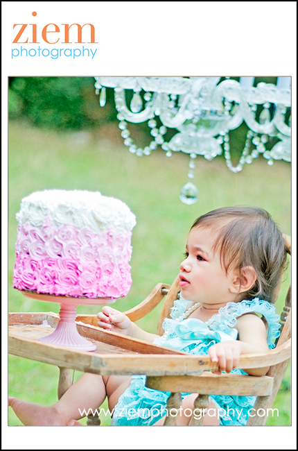 austin cake smash portraits first birthday