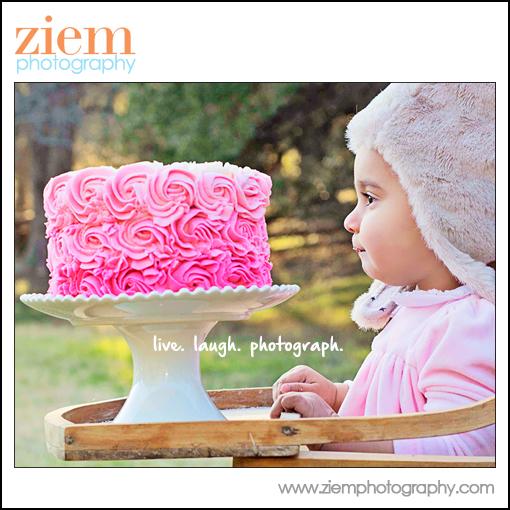 cake smash photography austin tx
