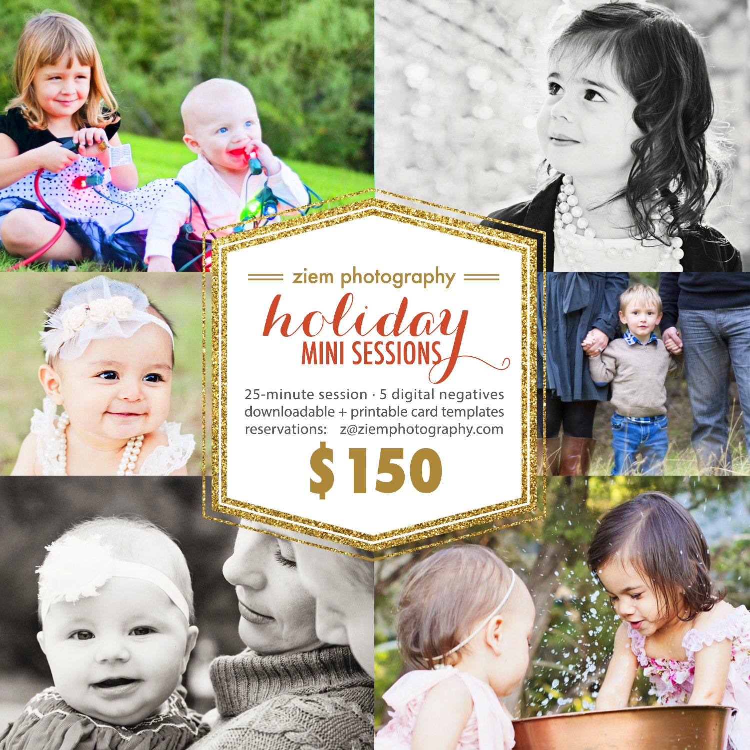 austin holiday mini sessions | ziem photography
