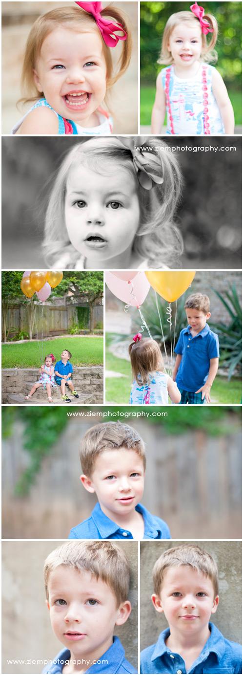 austin family birthday photographers ziem photography