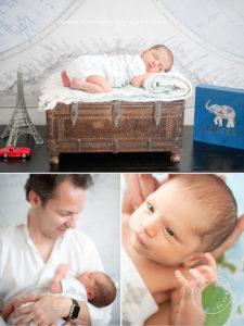 Austin Newborn Photography    The Newest Little Traveler
