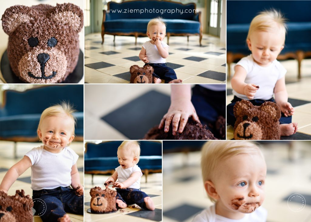 cake smash photographer austin