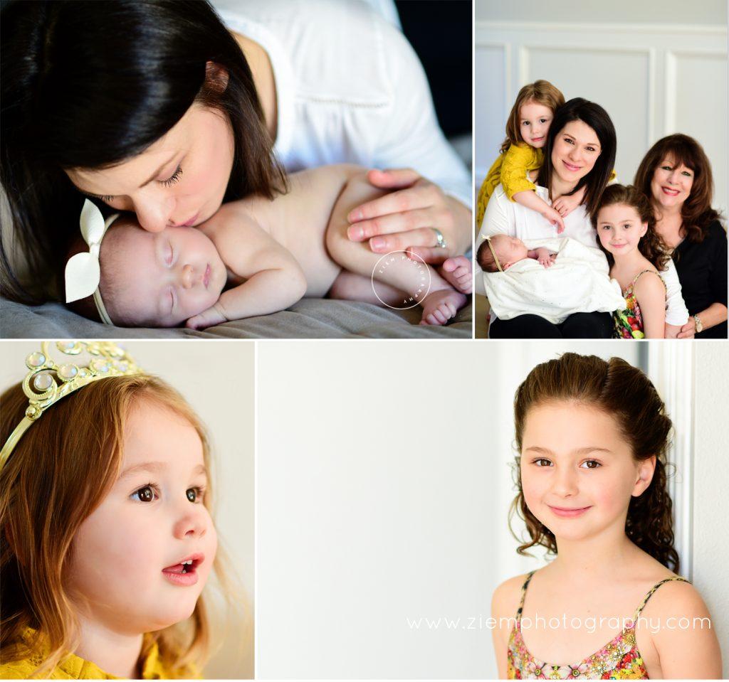 austin newborn family photographers